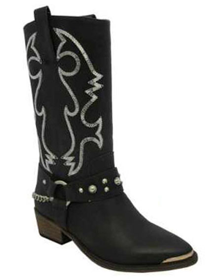 SOLID BOOTS WITH DESIGNS - orangeshine.com