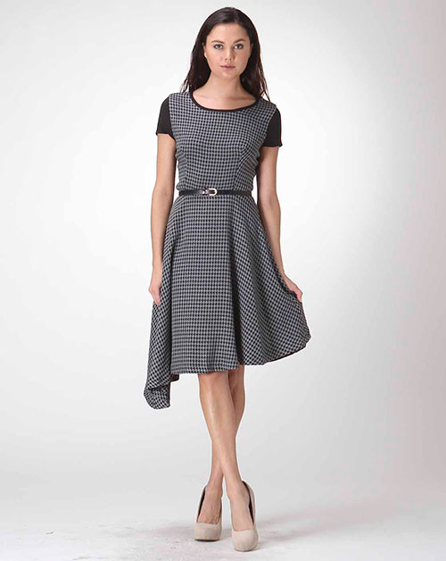 PIE DU PUL TWEED DRESS - orangeshine.com