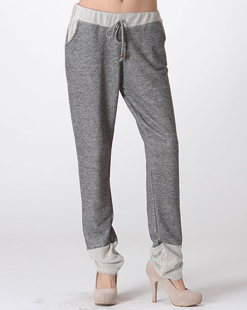 sweat pants with contrast side - orangeshine.com