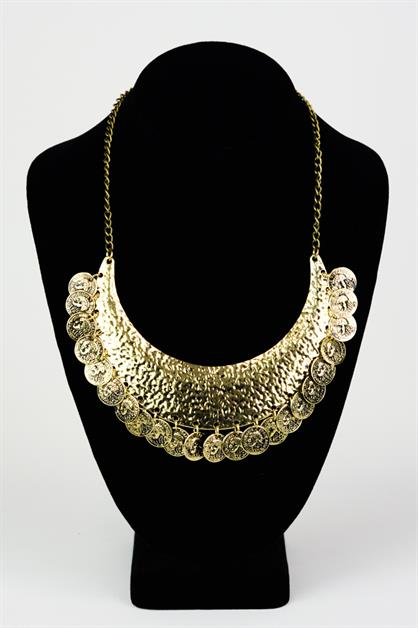 American Coin Statement Necklace - orangeshine.com