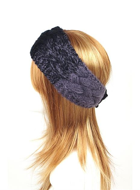 CABLE KNITTED HEADWRAP - orangeshine.com