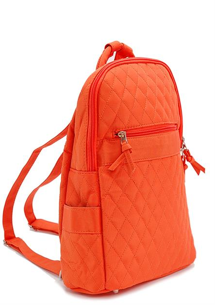 COLORFUL QUILTED SMALL  BACKPA - orangeshine.com
