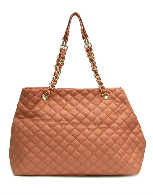 QUILTED FASHION HANDBAG - orangeshine.com