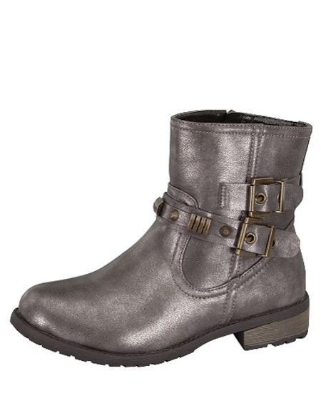 BUCKLED ANKLE BOOTS - orangeshine.com