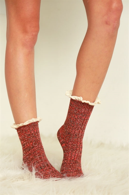 MULTI-COLOR MIX BOOT SOCKS - orangeshine.com