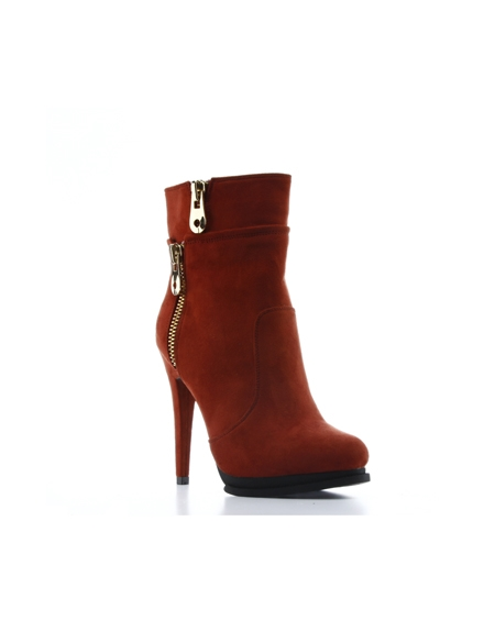 BOOTIE HIGH HEEL - orangeshine.com