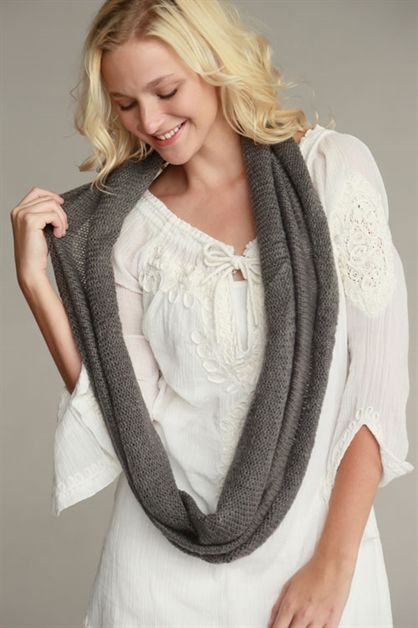 LOW GAUGE INFINITY SCARF - orangeshine.com