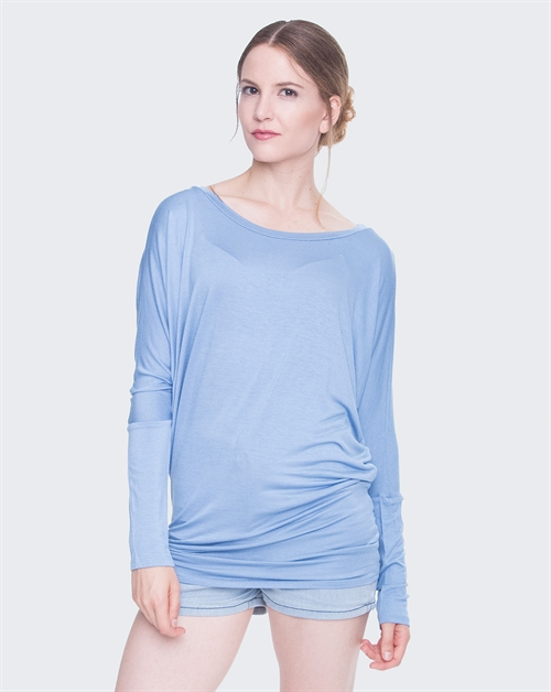 LONG SLEEVE KNIT TOP - orangeshine.com