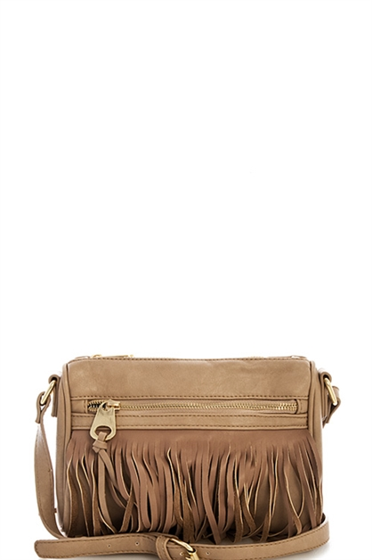 FASHION PRINCESS FRINGE BAG - orangeshine.com