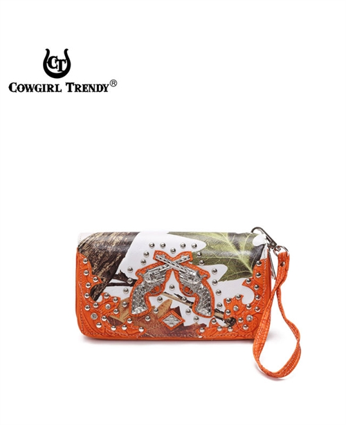 Whites Leaves and Guns Wallet - orangeshine.com