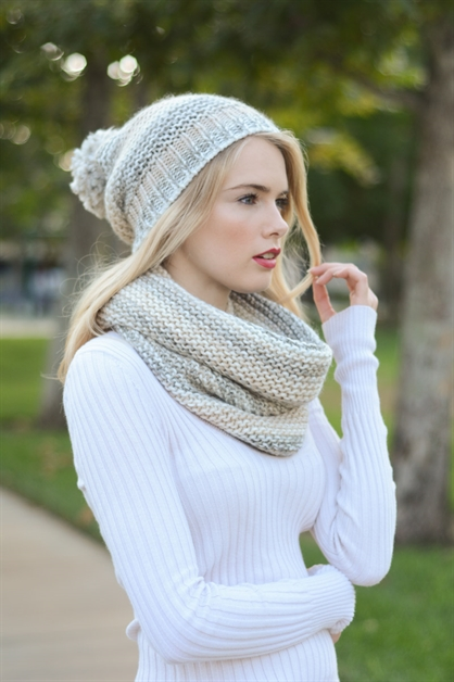 Marled Snood - orangeshine.com