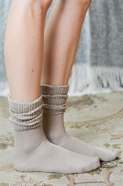 Ruffled Ankle Socks - orangeshine.com