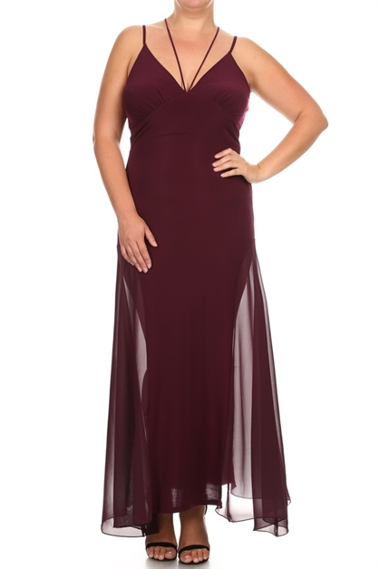 PLUS DRESS - orangeshine.com