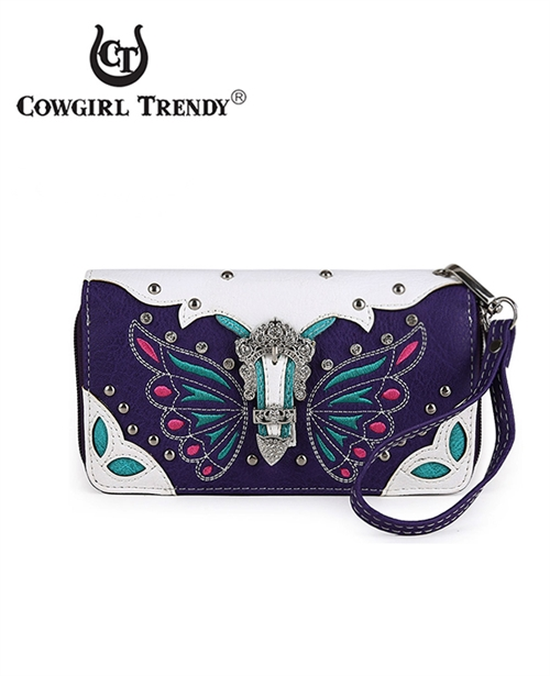 Butterfly with Buckle Wallet - orangeshine.com