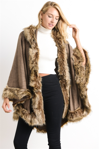 FAUX FUR WRAP - orangeshine.com