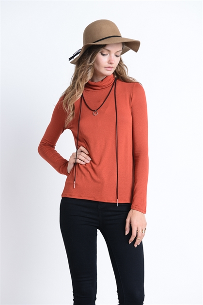 BASIC TURTLE NECK - orangeshine.com