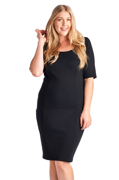 Classic Little Black Dress - orangeshine.com