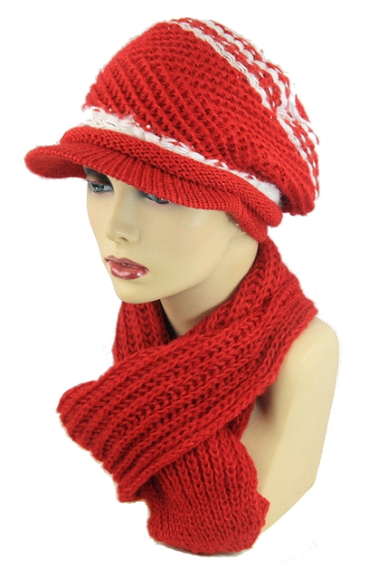 Scarf and Beanie Set - orangeshine.com