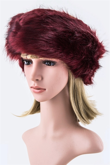 Faux Fur Cold Weather Headband - orangeshine.com