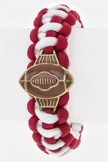 Football Team Color Paracord  - orangeshine.com