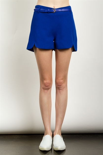 TEXTURED SOLID SHORTS - orangeshine.com