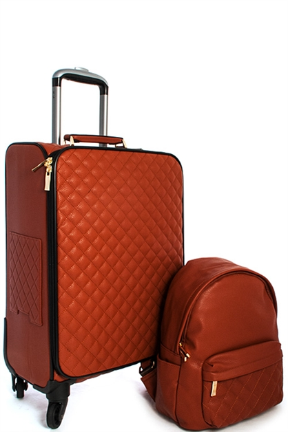 Chic Luggage and Backpack - orangeshine.com