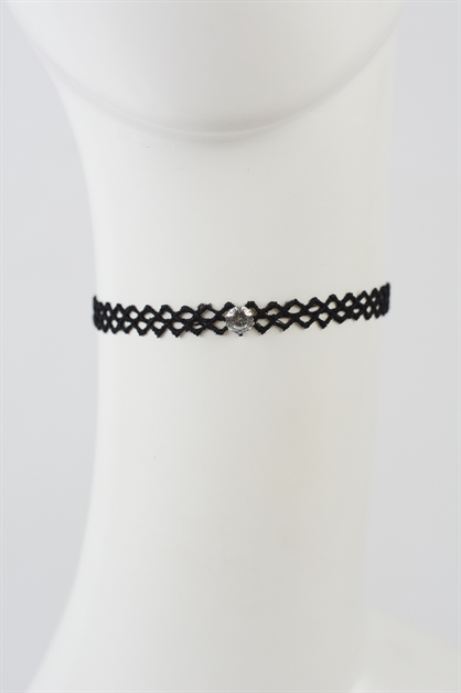 Diamond Lace Choker - orangeshine.com