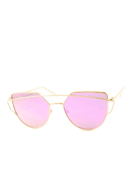 COLOR MIRROR SUNGLASSES - orangeshine.com
