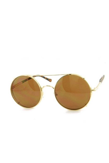 CIRCULAR  FASHION SUNGLASSES - orangeshine.com