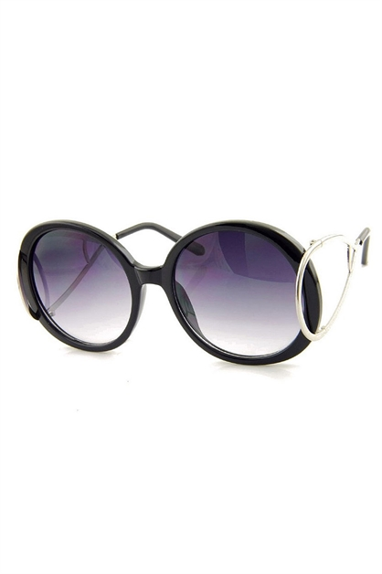ROUND FASHION SUNGLASSES - orangeshine.com
