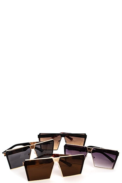 Fashion Square Chic Sunglasses - orangeshine.com