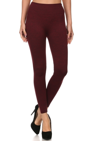 Body Shaper Fleece Leggings - orangeshine.com