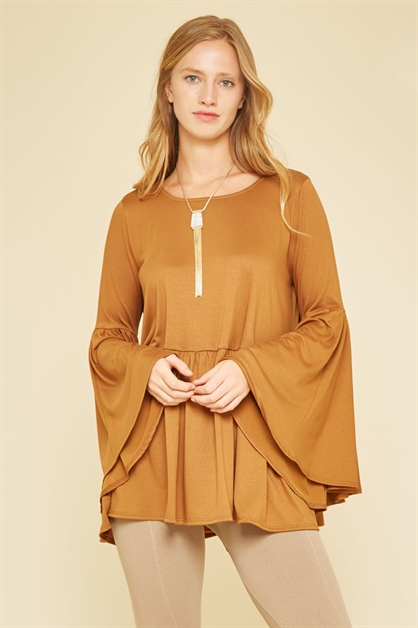 SHIRRING TOP - orangeshine.com