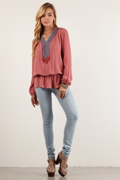 Relaxed fit top - orangeshine.com