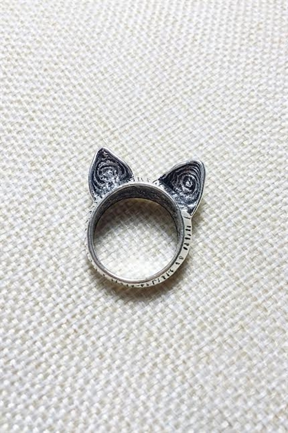 Cat ears ring - orangeshine.com