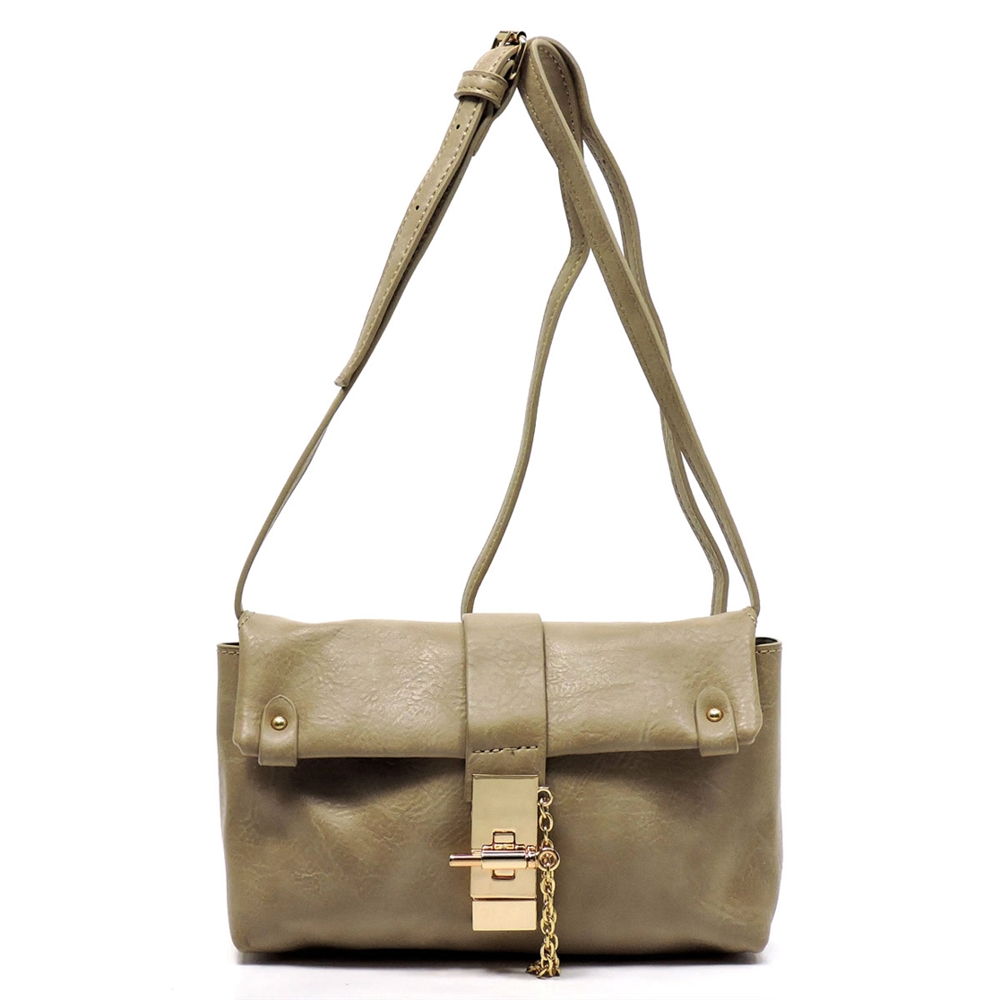 Twist Lock Cute Cross Body Bag - orangeshine.com