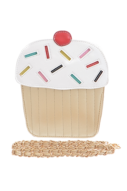 Whipped Cream Cupcake Clutch - orangeshine.com