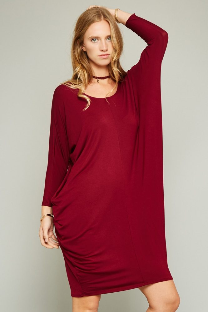 ROUND NECK DRESS - orangeshine.com
