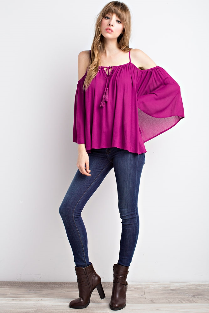 OPEN-SHOULDER SWING TOP - orangeshine.com
