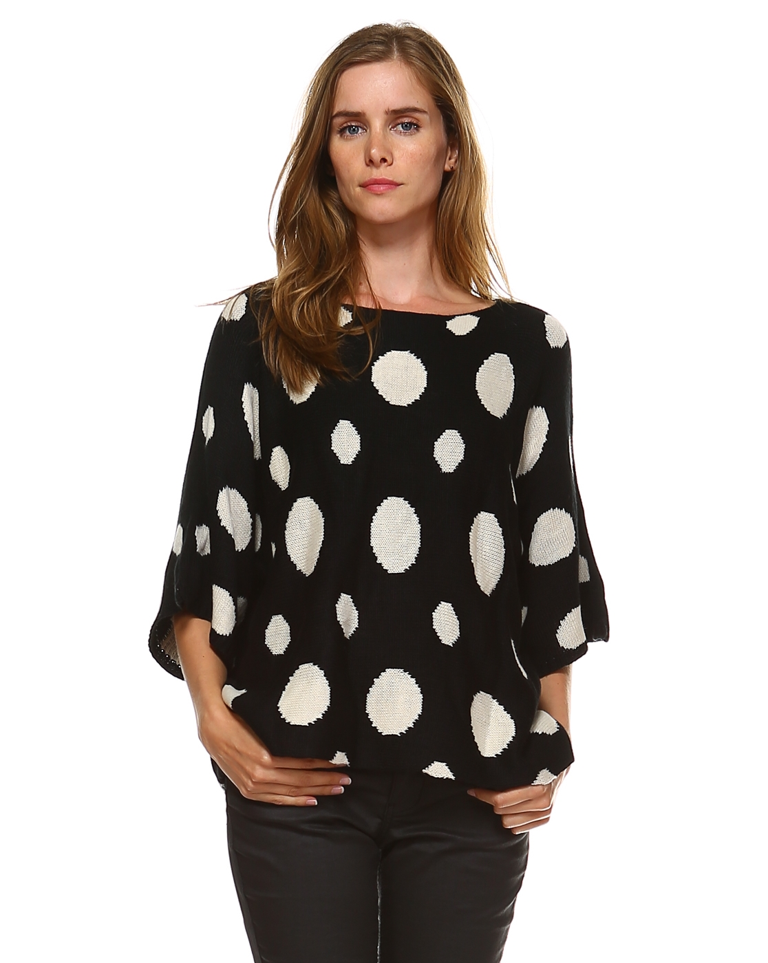 POLKA DOT SWEATER - orangeshine.com