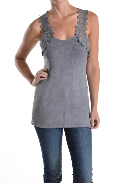 LACE PATCH TANK - orangeshine.com