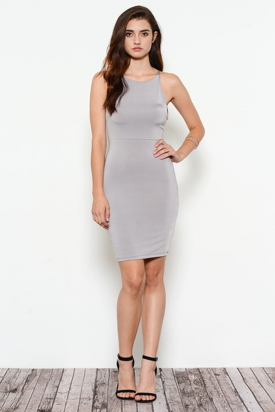 BODY CON SEXY CUT DRESS  - orangeshine.com