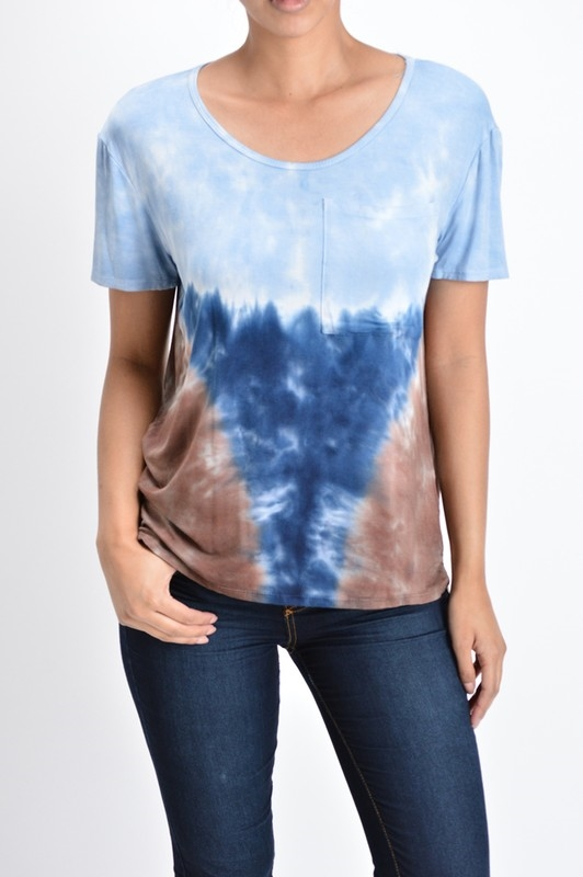 TIEDYE POCKET TOP - orangeshine.com