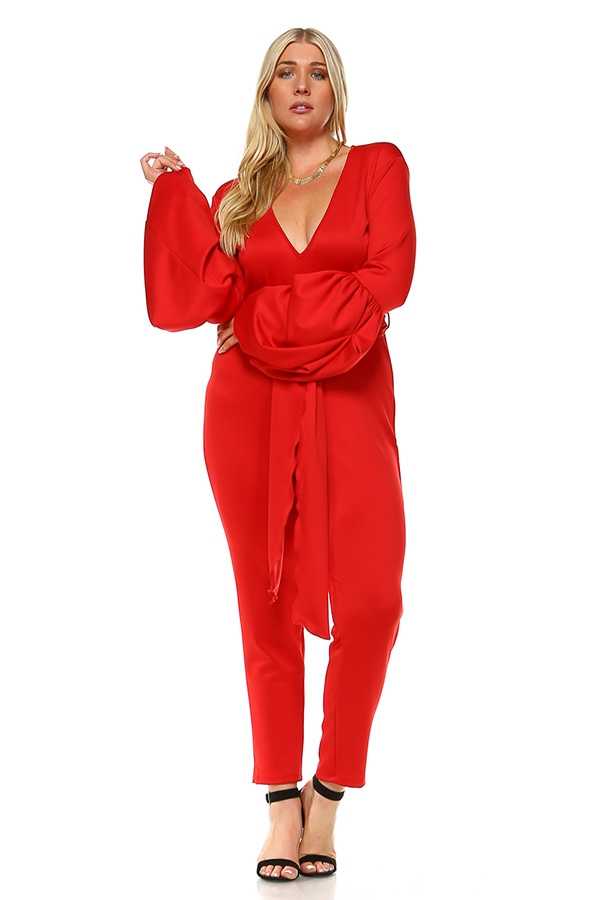 Relaxed jumpsuit  - orangeshine.com