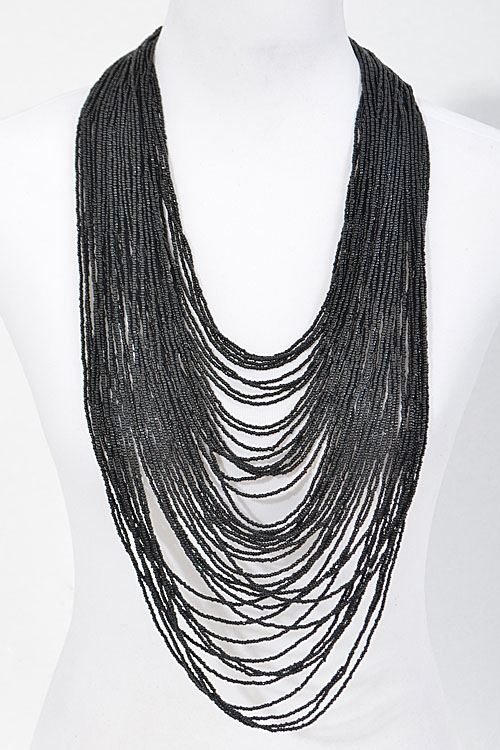 Thick Overlaying Drop Necklace - orangeshine.com