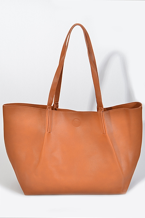 Wide Plain Simple Bag - orangeshine.com
