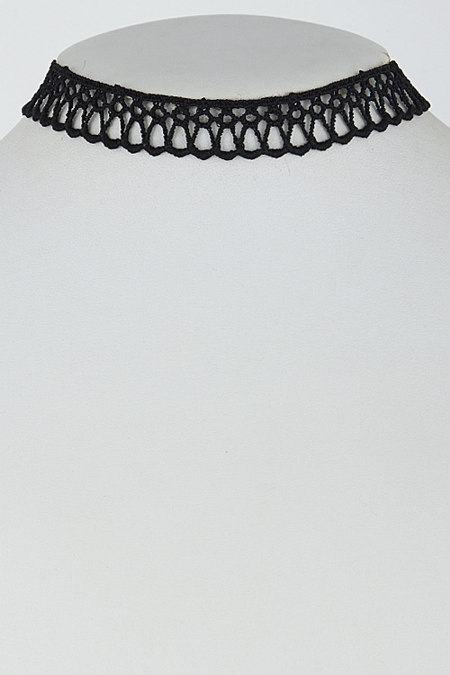 Lacy Choker Necklace - orangeshine.com