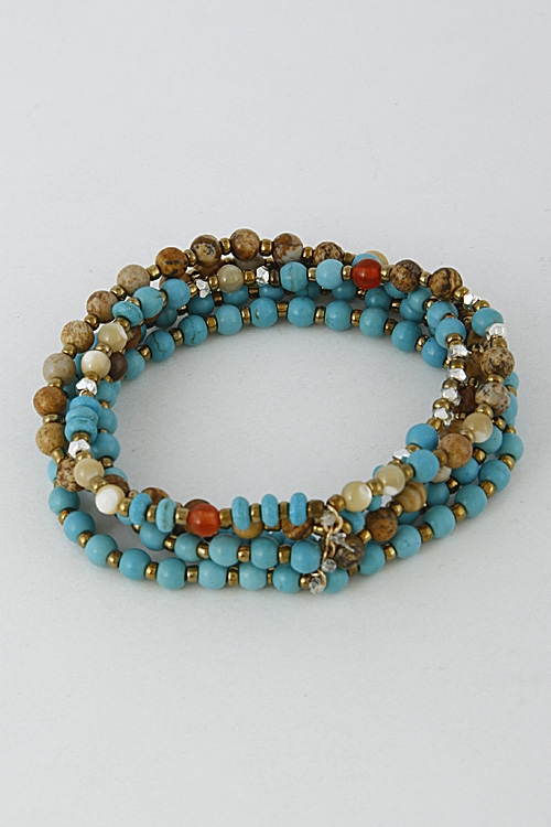 Daily Beaded Bracelet - orangeshine.com