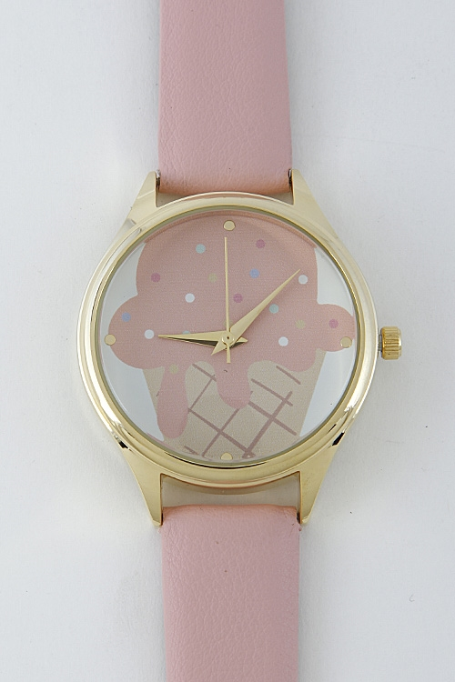 Cupcake Inspired Pastel Watch - orangeshine.com