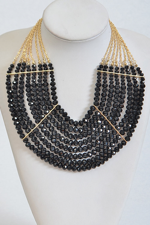 Thick Multi Layer Necklace - orangeshine.com
